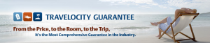 "Just As I Was Becoming Less Cynical About The World, I Discovered The ""Travelocity Guarantee.""  Back To Square One."